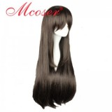 Noragami-Go Hiyori Long Straight brown Cosplay Wig WIG-015D
