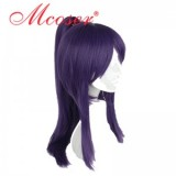 35cm Short Straight Ensemble Stars Purple Cosplay Wig WIG-622P